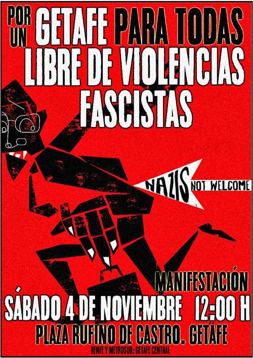 Getafe4N violencias fascistas