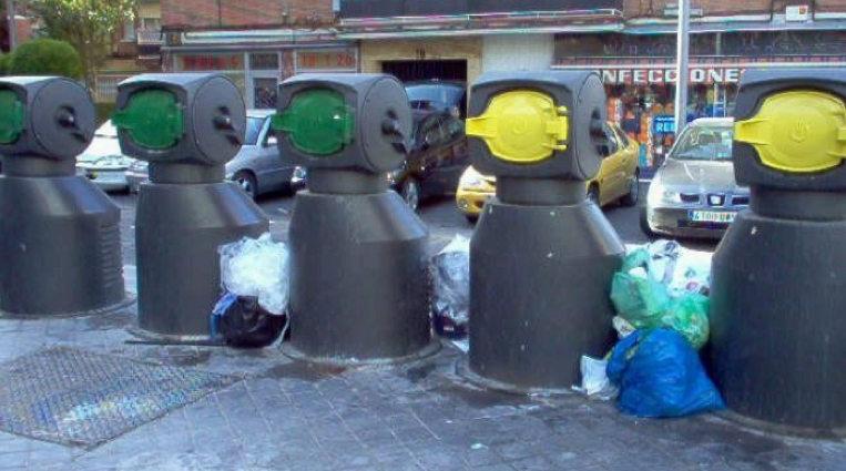 Resultado de imagen de basura leganes